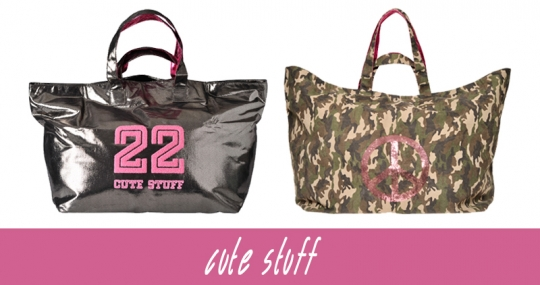 NEW IN: tolle, stylishe Riesenshopper von cute stuff!